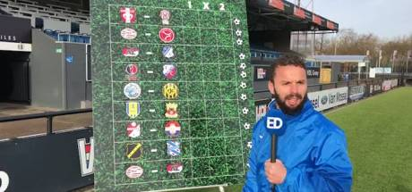 'Profeet' Rochdi Achenteh (FC Eindhoven) voorspelt lastige avond voor Willem II in Emmen