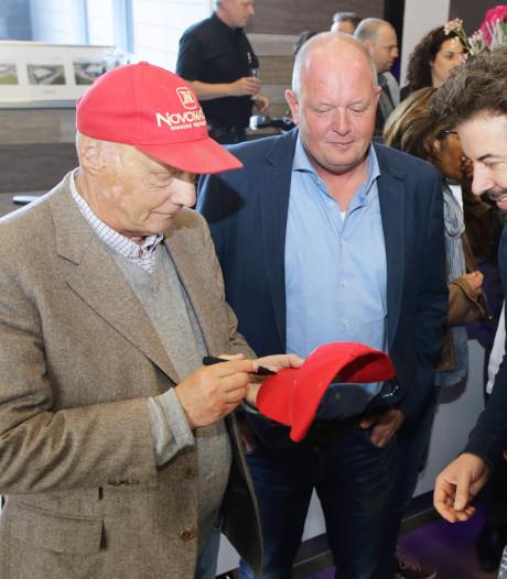 Niki Lauda was ambassadeur van het Waalwijkse bedrijf Novo Gaming