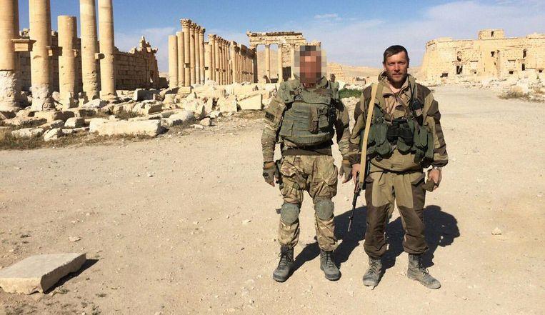 Russische huurlingen van de Wagner Group in Syrië. Beeld