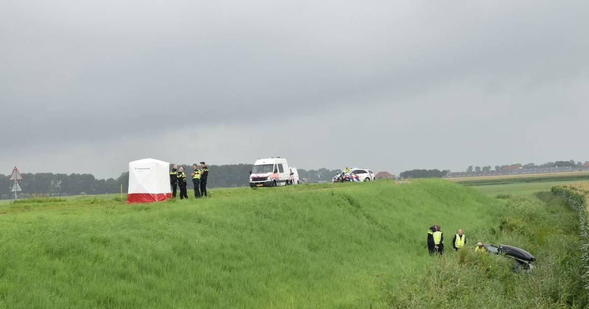 Automobilist overleden bij ongeluk in Kuinre.