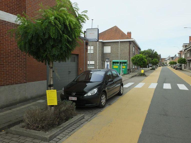 De aanplakborden zijn te vinden in de Poelstraat en op de Ten Rodelaan.