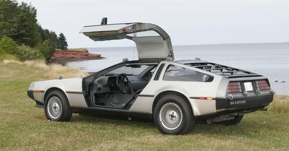'Back from the past': elektrische DeLorean DMC-12   Auto - AD.nl