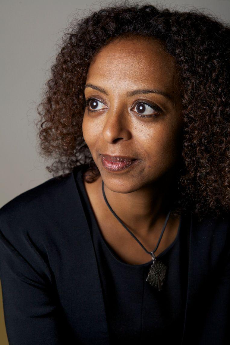 Maaza Mengiste: 'Vrouwen moeten voortdurend hun persoonlijk territorium beschermen.' Beeld Hollandse Hoogte / Stijn Rademaker