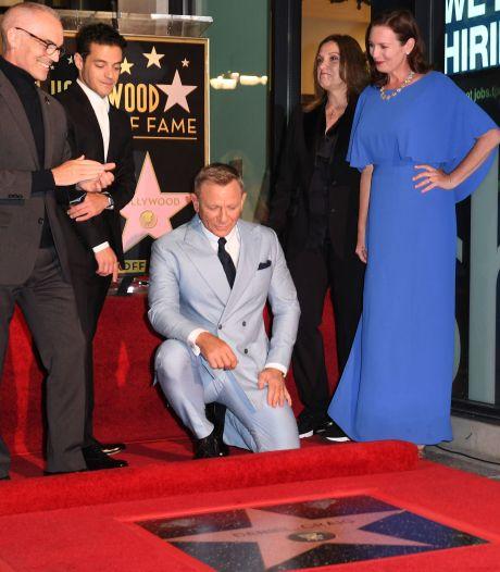 Daniel Craig a reçu son étoile sur le Hollywood Walk of Fame
