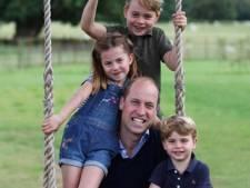 Prins William deelt schattig familiekiekje op verjaardag én Vaderdag