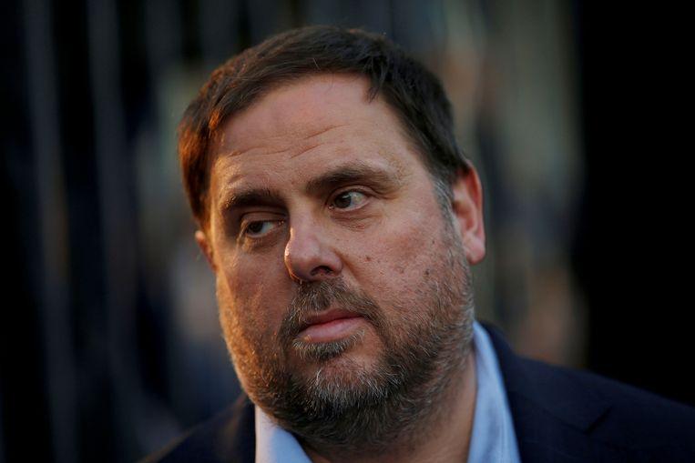 De afgezette Catalaanse vicepremier Oriol Junqueras.