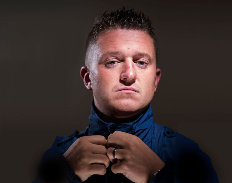Tommy Robinson Beeld HH