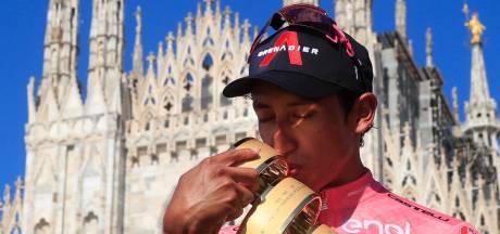 Bernal wint 104de editie Giro d'Italia, Ganna zegeviert in chaotische slottijdrit