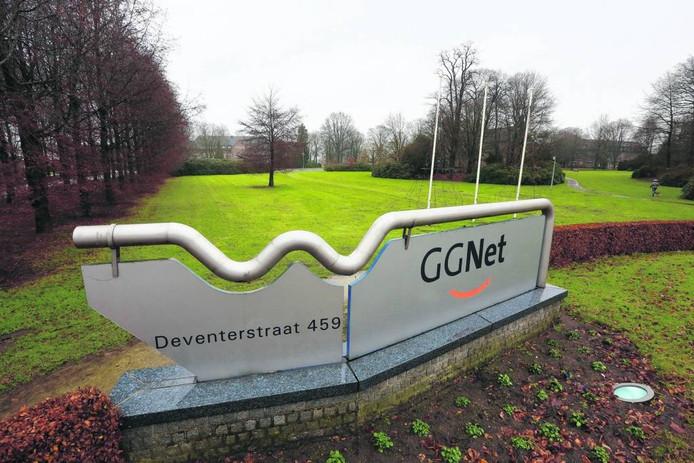 Het terrein aan de Deventerstraat waar binnenkort een nieuw azc geopend wordt