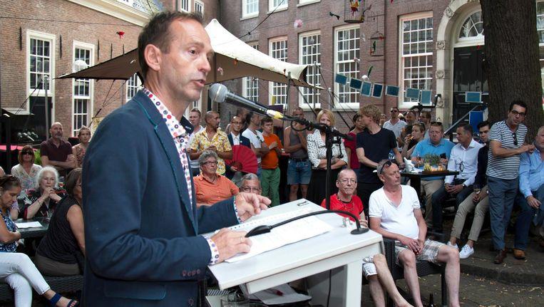 Siep de Haan Beeld Pieter Dammen/Het Parool