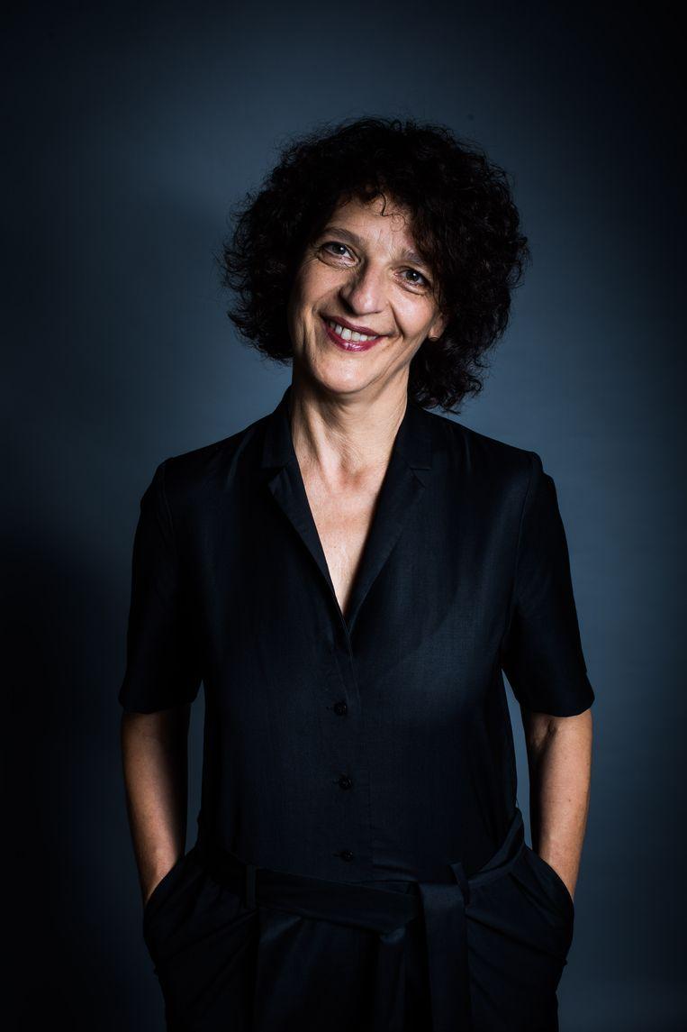 Marijke Vandebuerie van FFG: 'Filmmakers hebben al te lang moeten wachten op een mogelijkheid om hun werk te tonen.' Beeld BAS BOGAERTS
