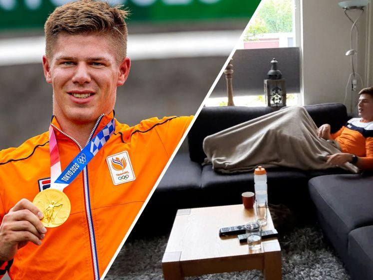 Kimmann terug in Nederland: 'Lekker op de bank sport kijken'