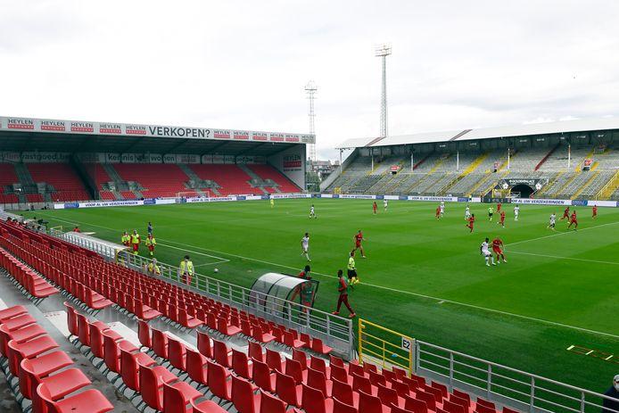 Antwerp oefende vorige week op de Bosuil tegen Lyon.