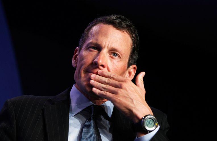 Lance Armstrong is als gast uitgenodigd voor de Ronde van Vlaanderen. Beeld Photo News