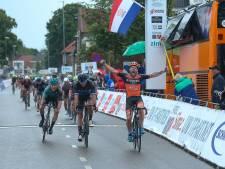 Roy Eefting verrast vriend en vijand met vlijmscherpe sprint in Omloop der Kempen