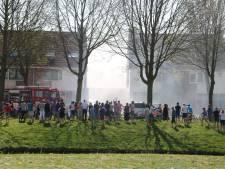 Veel bekijks bij garagebrand in Zeewolde