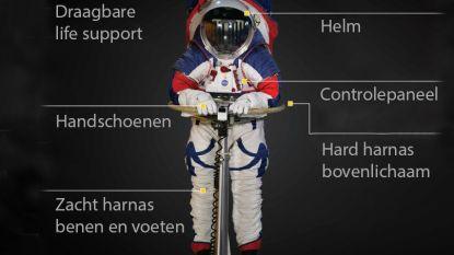 Met deze nieuwe ruimtepakken vol technologische snufjes wil NASA in 2024 naar de maan