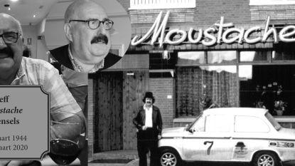 Pionier Sezoensrally Jeff 'Moustache' Steensels (76) overlijdt aan coronavirus