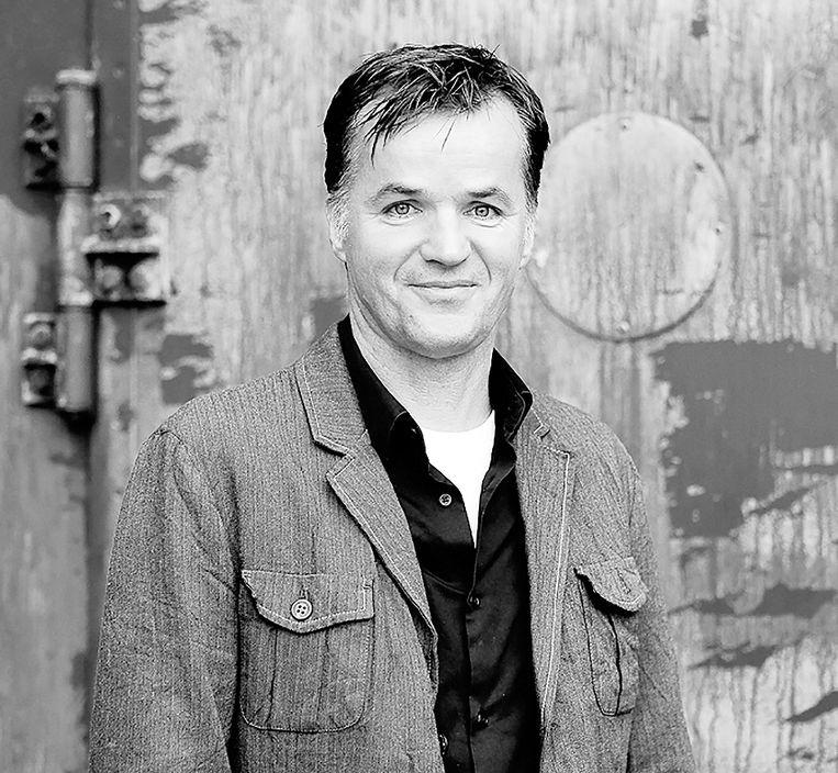 Erik Flentge. Fractievoorzitter van de SP in de Amsterdamse gemeenteraad. Beeld