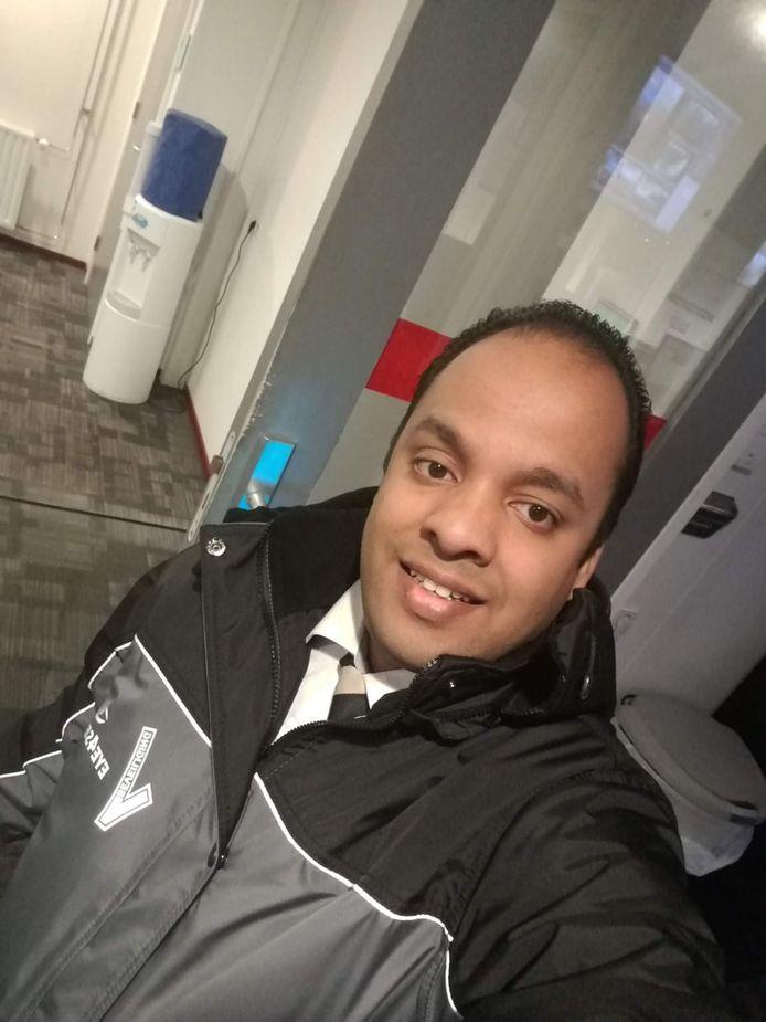 Beveiliger Satish Jairam