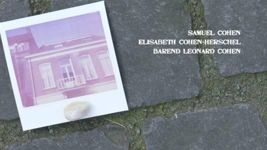 Nieuwe Ginnekenstraat 2, Breda. Samuel en Elisabeth zijn 29 jaar geworden, Barend net 1. Gestorven op 21 mei 1942 in kamp Sobibor.