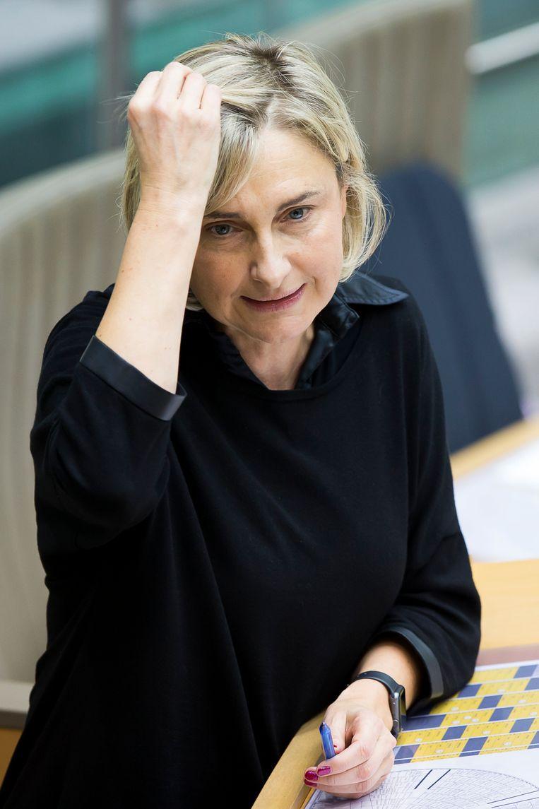 Minister van Onderwijs Hilde Crevits Beeld BELGA