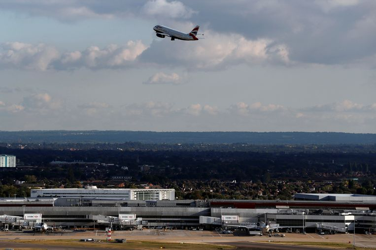 De Londense luchthaven Heathrow. Beeld REUTERS