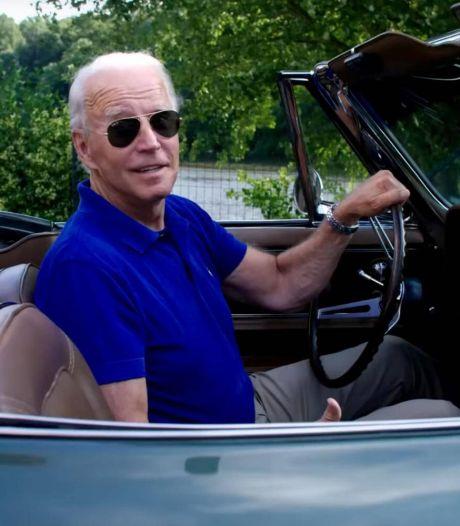 Deze sportwagen is al 54 jaar in het bezit van autoliefhebber Joe Biden