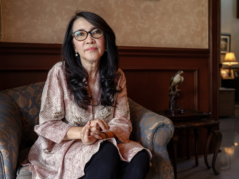 Siti Rabyah Parvati Sjahrir (Upik). dochter van Sutan Sjahrir