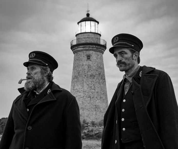 Scene uit The Lighthouse