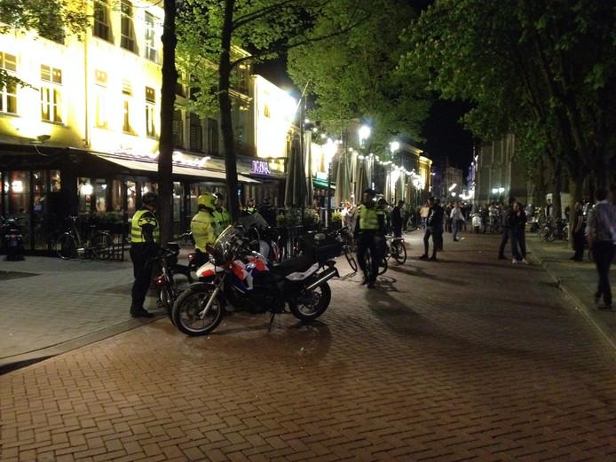 Veel politie op de been op de Parade