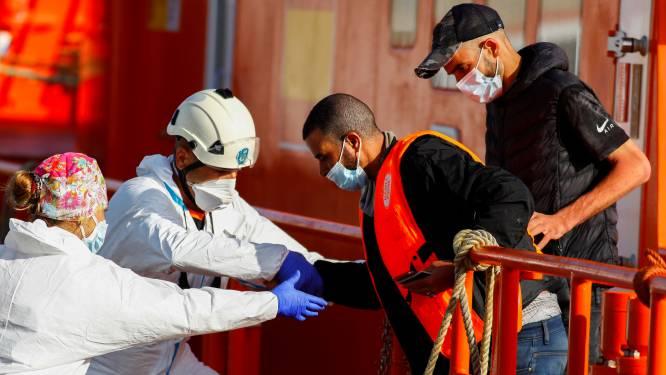 Twaalf migranten vermist voor Spaanse kust