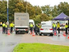 Grootschalige controle door overheidsdiensten A1 bij Stroe