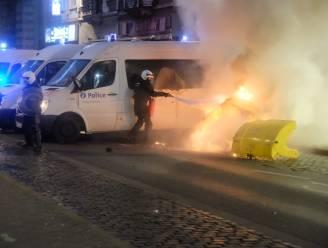 Nog vier verdachten opgepakt voor geweld tijdens rellen in Schaarbeek