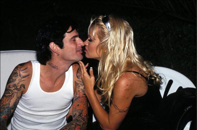 Pamela Anderson et Tommy Lee à l'époque du bonheur.
