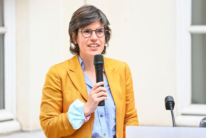 Federaal minister van Energie Tinne Van der Straeten (Groen).