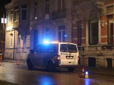 La rue de la Colline est toujours bloquée à Verviers