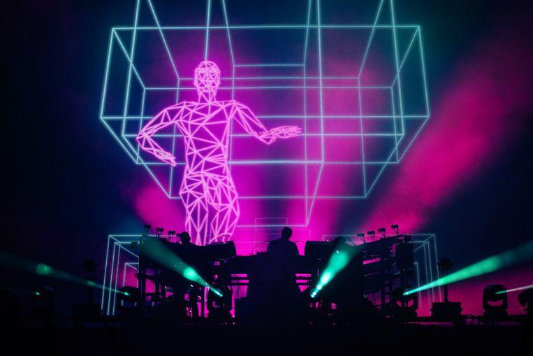 The Chemical Brothers op de Lokerse Feesten 2019. Beeld Damon De Backer