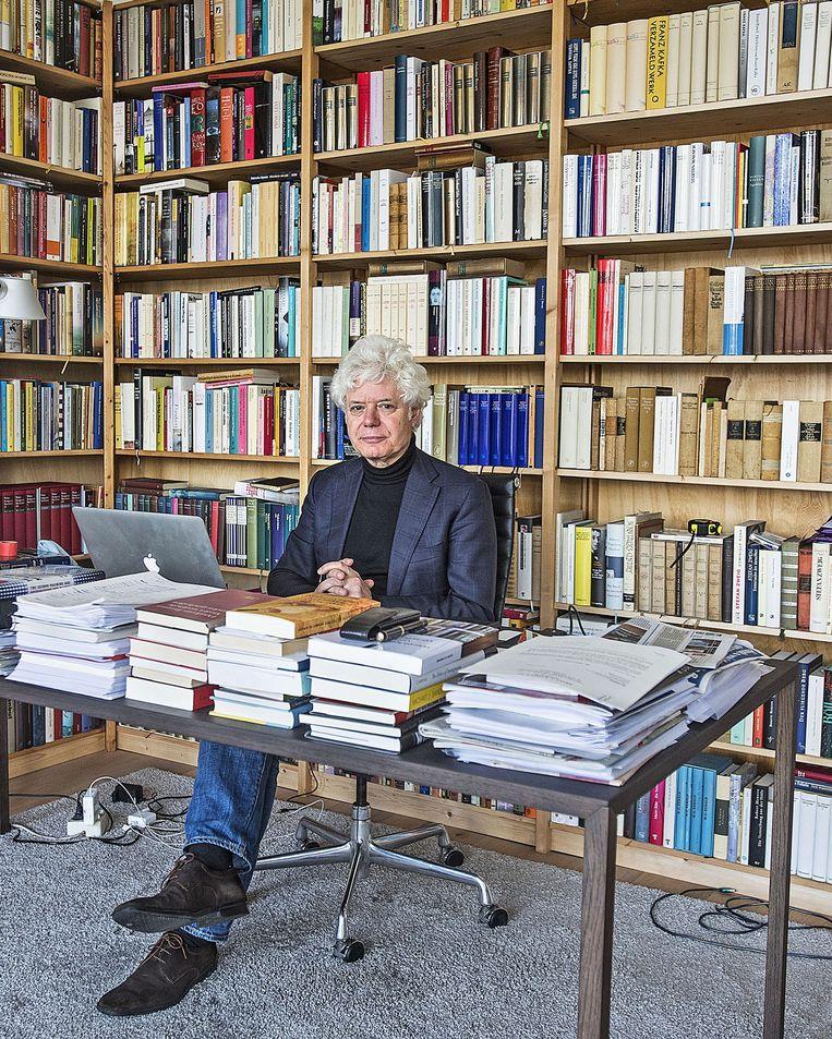 Paul Scheffer, schrijver en wetenschapper. Beeld Guus Dubbelman/de Volkskrant