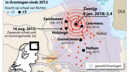 Zwaarste aardbeving sinds 2012 in Nederland