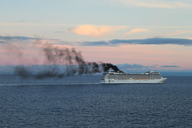Een cruiseschip.
