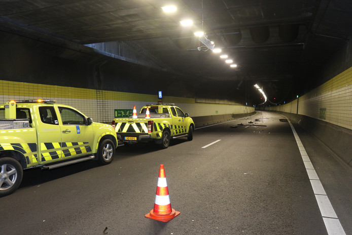 De linkertunnel is weer open.