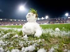 Spelers NAC hebben sneeuwvrij