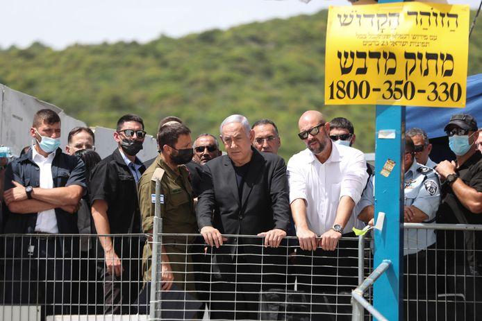 Premier Benjamin Netanyahu bezoekt vrijdag de rampplek.