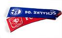 Een speciale sjaal die werd gemaakt toen beide clubs elkaar tegenkwamen in de Europa League.
