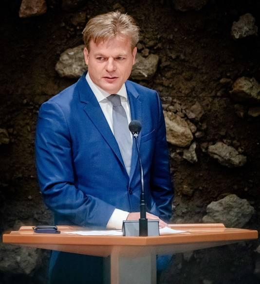 Pieter Omtzigt is als eenmansfractie terug in de Tweede Kamer.