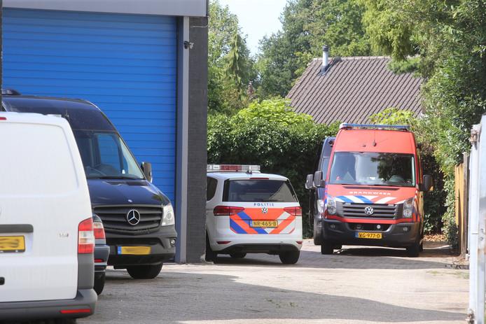 Drugsonderzoek in loods Den Bosch, man opgepakt