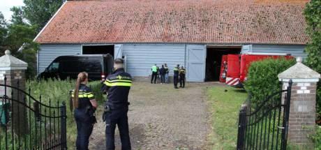 Schuur in Oud-Vossemeer jaar dicht na vondst cokewasserij