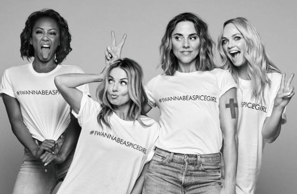 Spice Girls in verlegenheid om T-shirts uit Bangladesh