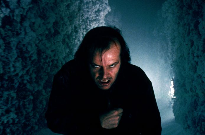 Jack Nicholson in The Shining.